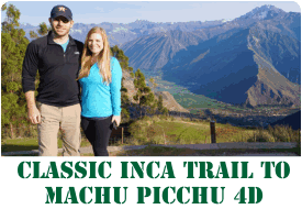 Classic Inca Trail to Machu Picchu - 4 Days