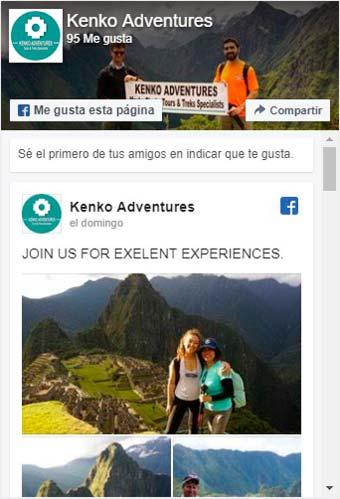 Facebook Kenko Adventures