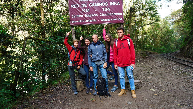 KM 104 - 1 Day Inca Trail to Machu Picchu