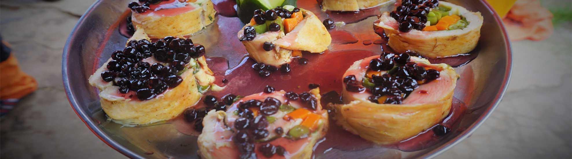 Traditional Gourmet food by Kenko Adventures
