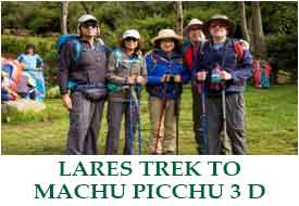 Classic Lares Trek to Machu Picchu - 4 Days