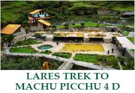 Special  Lares Trek to Machu Picchu - 5 Days