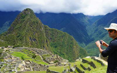 Machu Picchu in the Inca Mountain Range