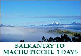 Short Salkantay to Machu Picchu - 3 Days