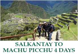 Classic Salkantay  to Machu Picchu - 4 Days