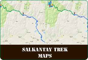 Salkantay Trek Maps