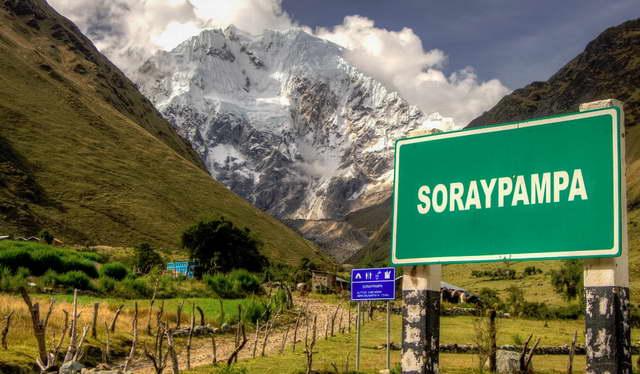 Soraypampa - Humantay Lake
