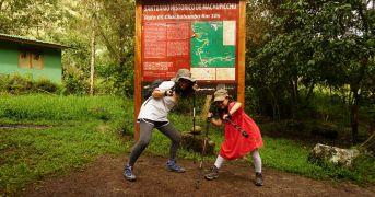 Inca trail one day tour start
