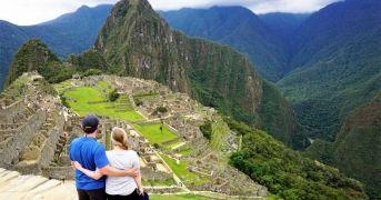 Machu Picchu sunrise view