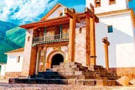 Andahuaylillas Temple Gallery