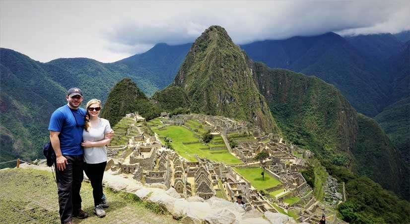Machu Picchu tour at Machu Picchu