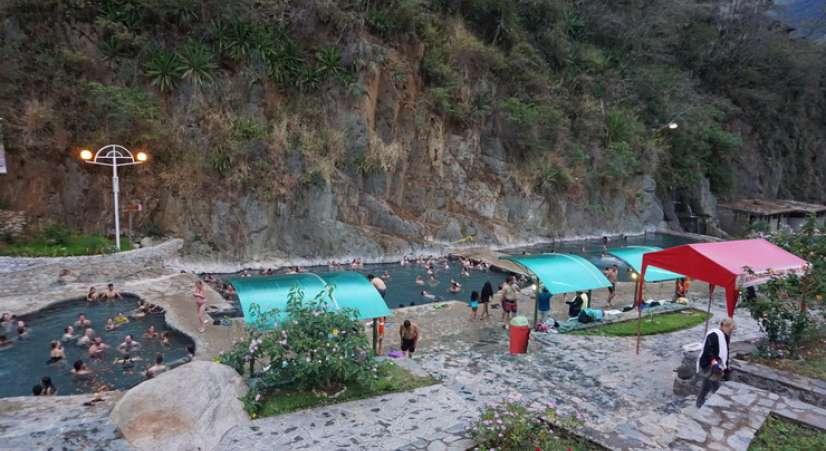 Salkantay trek hot spring