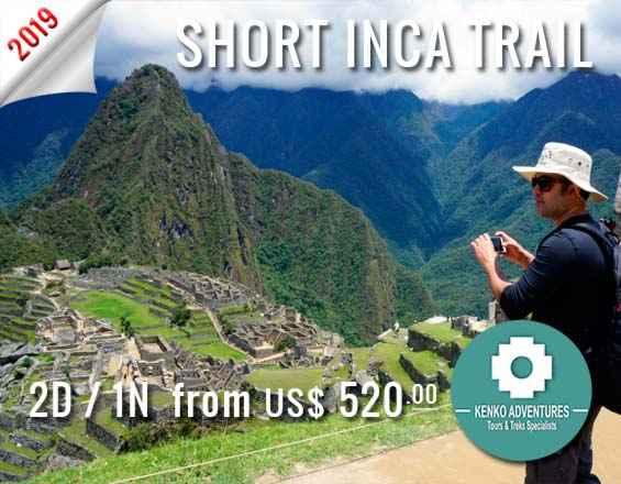 inca trail trek machu picchu 2 days
