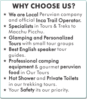Why Choose Kenko Adventure for your Inca Trail
